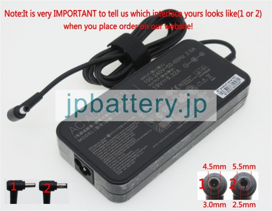 ASUS N551JX N551JQ N552VX ROG GL552VW G551VW Power ac Adapter charger